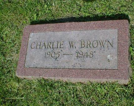 BROWN, CHARLIE W. - Fremont County, Iowa | CHARLIE W. BROWN