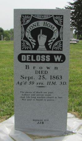 BROWN, DELOSS W - Fremont County, Iowa | DELOSS W BROWN