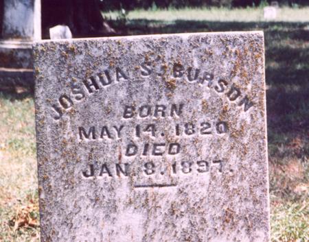 BURSON, JOSHUA S. - Fremont County, Iowa | JOSHUA S. BURSON