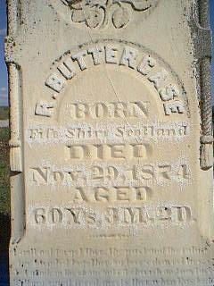 BUTTERCASE, R. - Fremont County, Iowa | R. BUTTERCASE