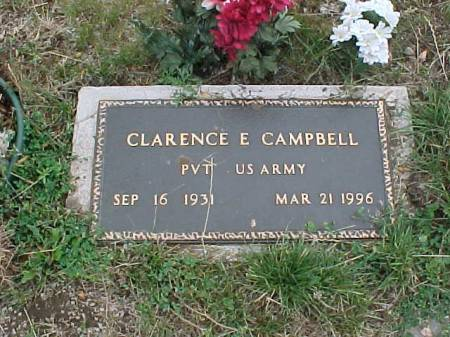 CAMPBELL, CLARENCE E. - Fremont County, Iowa | CLARENCE E. CAMPBELL