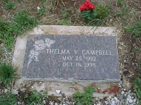 CAMPBELL, THELMA V. - Fremont County, Iowa | THELMA V. CAMPBELL