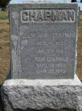CHAPMAN, JOHN - Fremont County, Iowa | JOHN CHAPMAN