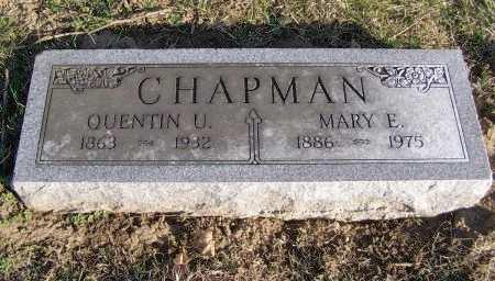 CHAPMAN, QUENTIN U - Fremont County, Iowa | QUENTIN U CHAPMAN