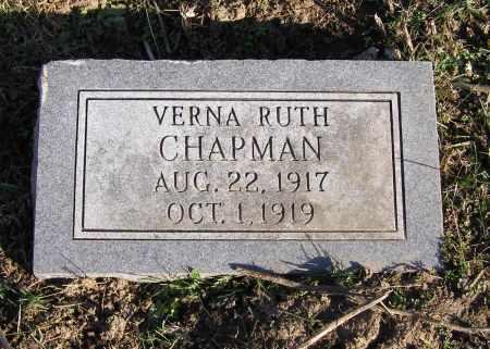 CHAPMAN, VERNA RUTH - Fremont County, Iowa | VERNA RUTH CHAPMAN