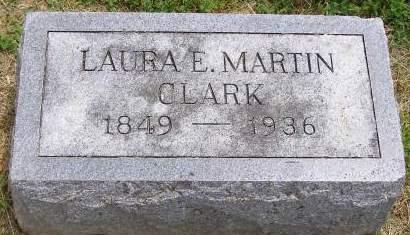 CLARK, LAURA E. - Fremont County, Iowa   LAURA E. CLARK