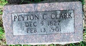 CLARK, PEYTON C. - Fremont County, Iowa | PEYTON C. CLARK