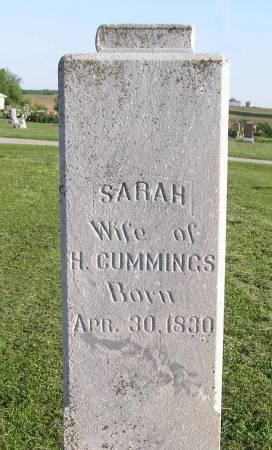 CUMMINGS, SARAH - Fremont County, Iowa | SARAH CUMMINGS