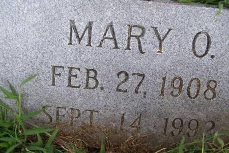 DEFREECE, MARY O - Fremont County, Iowa   MARY O DEFREECE