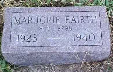 EARITH, MARGORIE AND BABY - Fremont County, Iowa | MARGORIE AND BABY EARITH