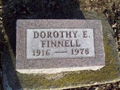 FINNELL, DOROTHY E - Fremont County, Iowa | DOROTHY E FINNELL