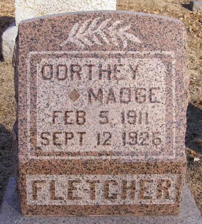 FLETCHER, DORTHEY MADGE - Fremont County, Iowa | DORTHEY MADGE FLETCHER