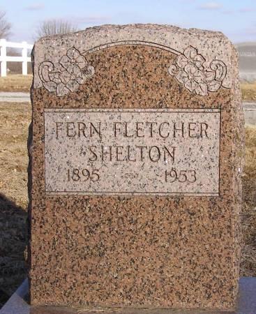 FLETCHER SHELTON, FERN - Fremont County, Iowa | FERN FLETCHER SHELTON
