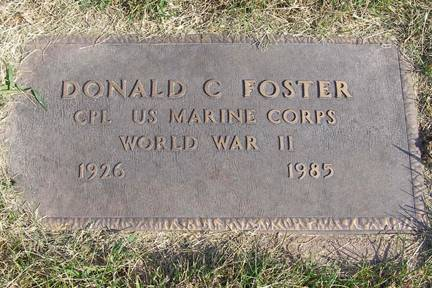 FOSTER, DONALD C - Fremont County, Iowa | DONALD C FOSTER