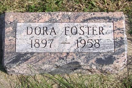 FOSTER, DORA - Fremont County, Iowa | DORA FOSTER