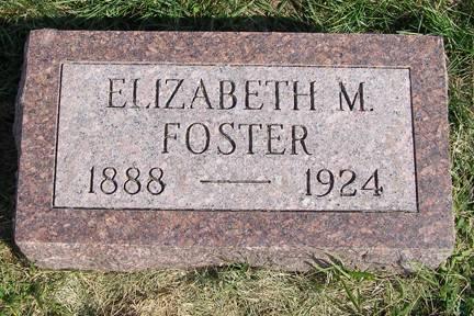 FOSTER, ELIZABETH M - Fremont County, Iowa | ELIZABETH M FOSTER