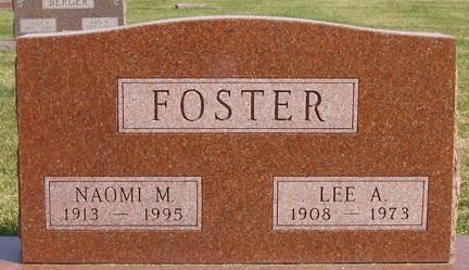 FOSTER, NAOMI M - Fremont County, Iowa | NAOMI M FOSTER