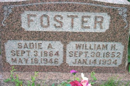 FOSTER, SADIE ANN - Fremont County, Iowa | SADIE ANN FOSTER