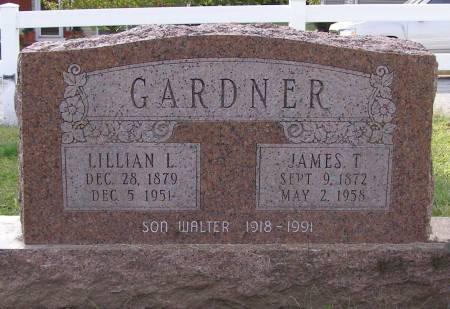 GARDNER, JAMES T - Fremont County, Iowa   JAMES T GARDNER