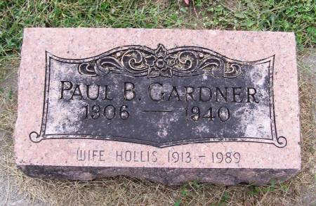 GARDNER, PAUL B - Fremont County, Iowa | PAUL B GARDNER