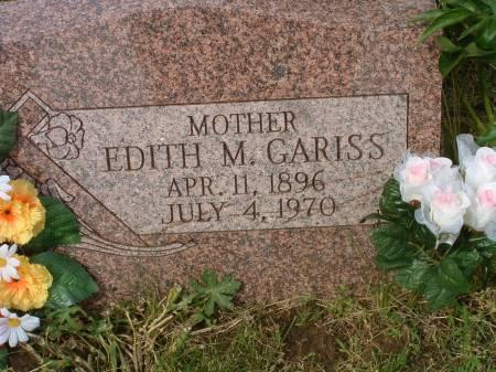GARISS, EDITH M - Fremont County, Iowa | EDITH M GARISS