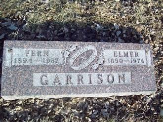 WEST GARRISON, FERN - Fremont County, Iowa | FERN WEST GARRISON