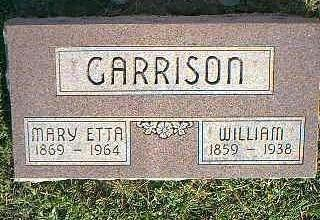 GARRISON, WILLIAM - Fremont County, Iowa | WILLIAM GARRISON