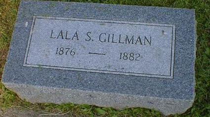 GILLMAN, LALA S. - Fremont County, Iowa | LALA S. GILLMAN