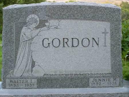 GORDON, WALTER L. - Fremont County, Iowa | WALTER L. GORDON