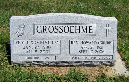 GROSSOEHME, HOWARD - Fremont County, Iowa   HOWARD GROSSOEHME