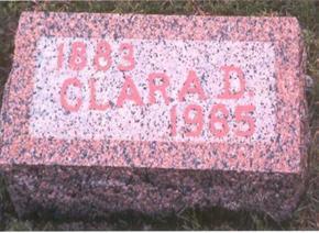 ACORD HANDY, CLARA DELLA - Fremont County, Iowa | CLARA DELLA ACORD HANDY