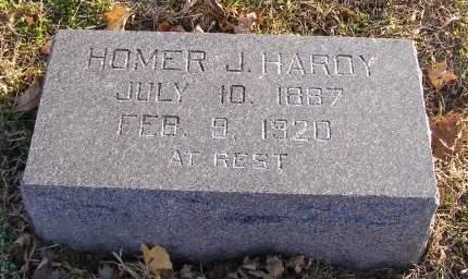 HARDY, HOMER J - Fremont County, Iowa   HOMER J HARDY