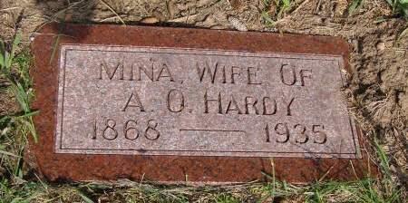 HARDY, MINA - Fremont County, Iowa | MINA HARDY