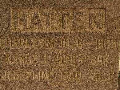 HATTEN, NANCY J - Fremont County, Iowa | NANCY J HATTEN