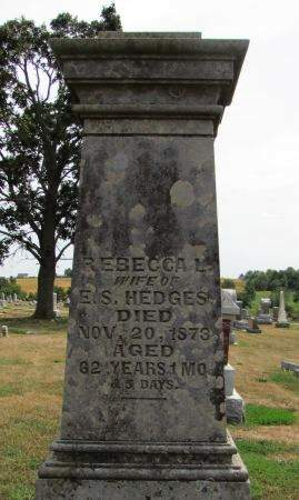 HEDGES, REBECCA L - Fremont County, Iowa | REBECCA L HEDGES