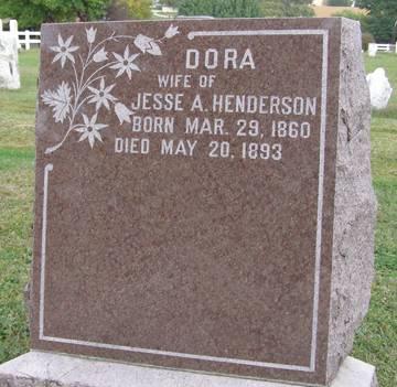 HENDERSON, DORA - Fremont County, Iowa | DORA HENDERSON