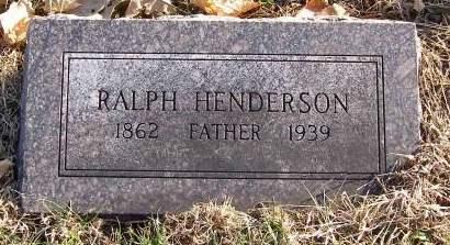HENDERSON, RALPH - Fremont County, Iowa | RALPH HENDERSON
