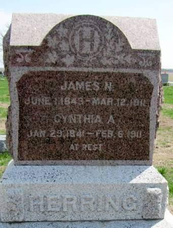 HERRING, JAMES N - Fremont County, Iowa   JAMES N HERRING