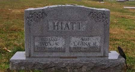 HIATT, LAVINA M - Fremont County, Iowa | LAVINA M HIATT