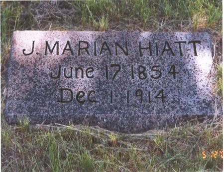 HIATT, JESSE MARIAN - Fremont County, Iowa | JESSE MARIAN HIATT