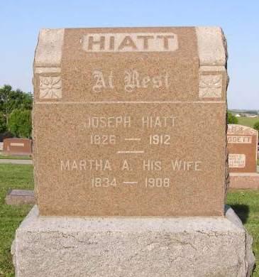 HIATT, JOSEPH - Fremont County, Iowa | JOSEPH HIATT