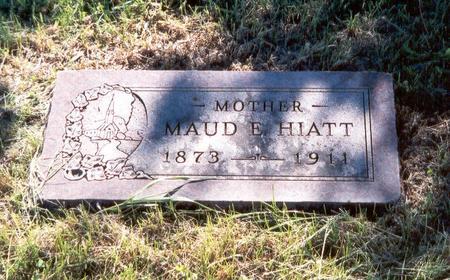 HIATT, MAUDE E. - Fremont County, Iowa | MAUDE E. HIATT
