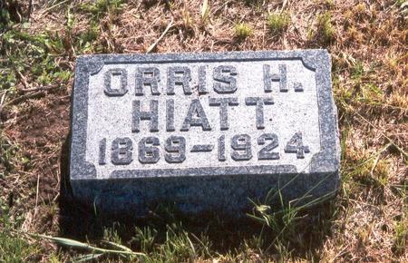 HIATT, ORRIS H. - Fremont County, Iowa   ORRIS H. HIATT