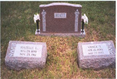 HIATT, HAZELLE LENORE - Fremont County, Iowa | HAZELLE LENORE HIATT
