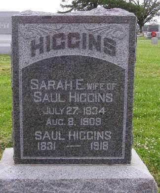 HIGGINS, SAUL - Fremont County, Iowa   SAUL HIGGINS