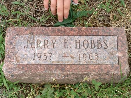 HOBBS, JERRY E - Fremont County, Iowa   JERRY E HOBBS