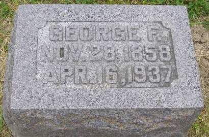 HODGES, GEORGE F - Fremont County, Iowa | GEORGE F HODGES