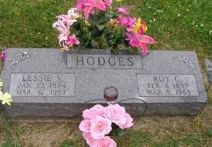 HODGES, LESSIE - Fremont County, Iowa   LESSIE HODGES