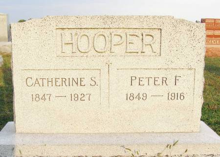 HOOPER, CATHERINE S - Fremont County, Iowa | CATHERINE S HOOPER