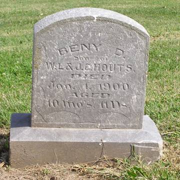 HOUTS, BENY D - Fremont County, Iowa | BENY D HOUTS